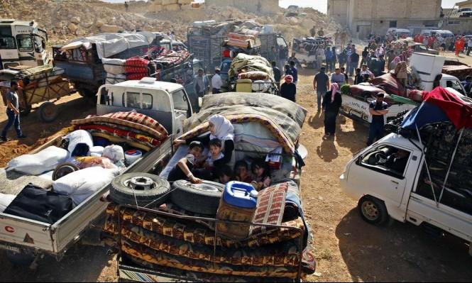 ارتفاع عدد النازحين في الجنوب السوري إلى 160 ألفا