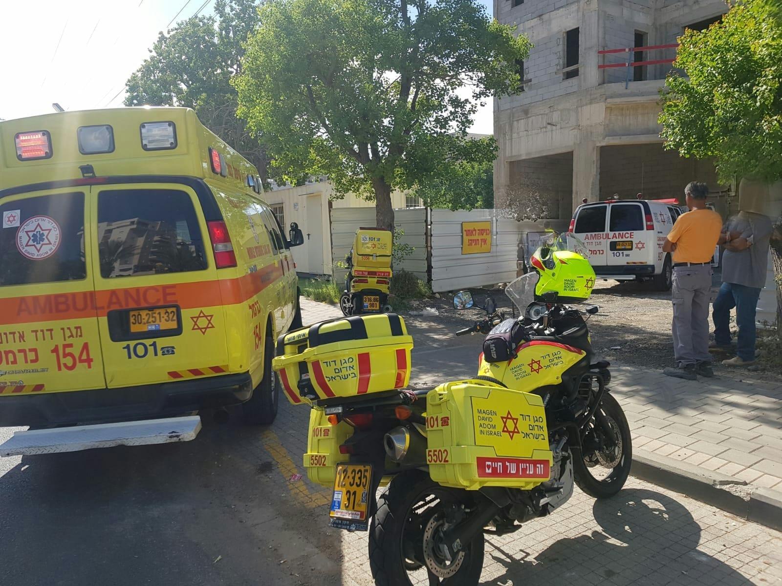 مصرع مهران ميعاري من المكر سقط من علو قرب حيفا