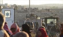 الأردن يقدم مساعدات إنسانية للنازحين السوريين في منطقة درعا