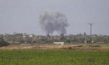 غارة إسرائيلية تستهدف شبّانا غزيين ولا إصابات