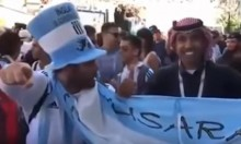 فيديو: مشجع أرجنتيني يجبر عربي على التهديد بقنبلة بالمونديال