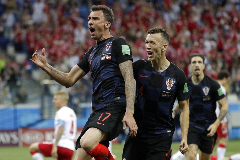 ركلات الترجيح تبتسم لكرواتيا وتقصي الدانمارك من المونديال