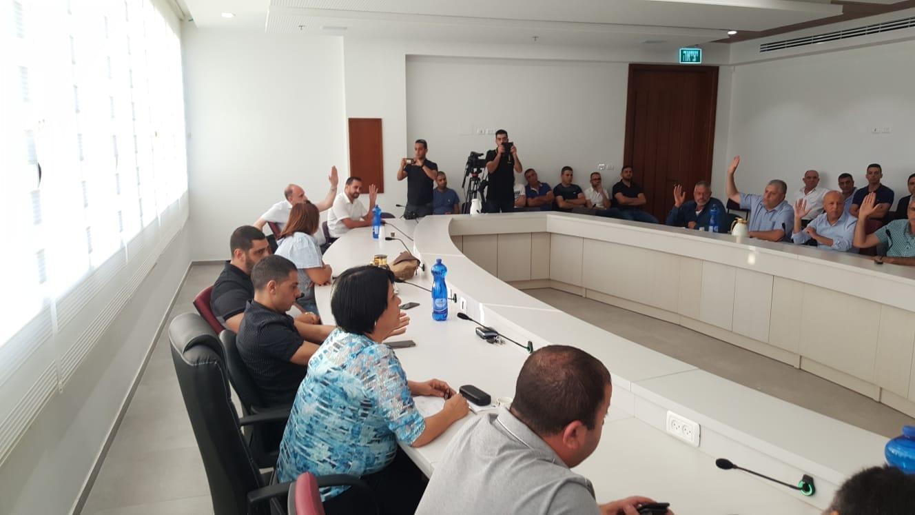 الداخلية تحل المجلس البلدي بالناصرة