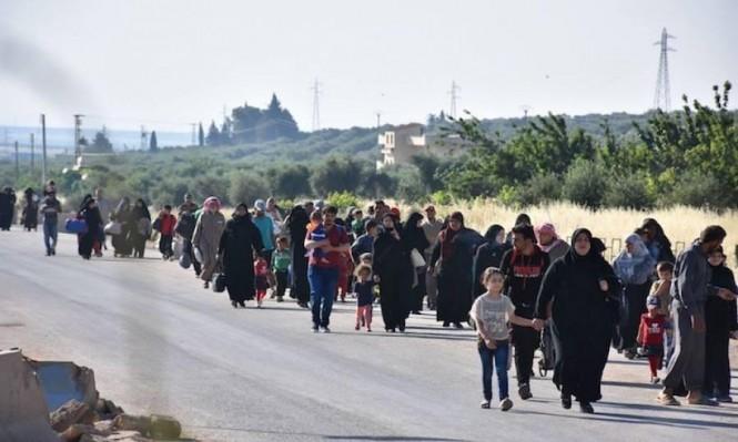 270 ألف نازح جنوب سورية بمركز قمة أردنية روسية