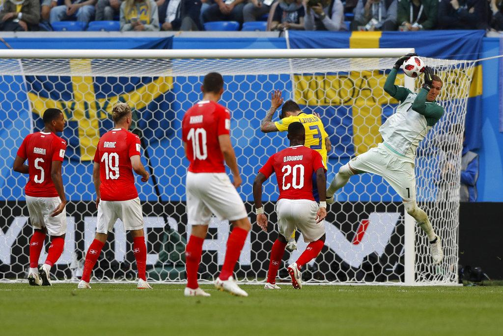 السويد تصعد لربع نهائي المونديال على حساب سويسرا