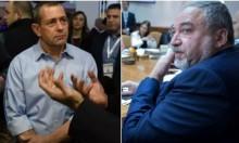 ليبرمان ورئيس الشاباك يتبادلان الصراخ بسبب لم الشمل