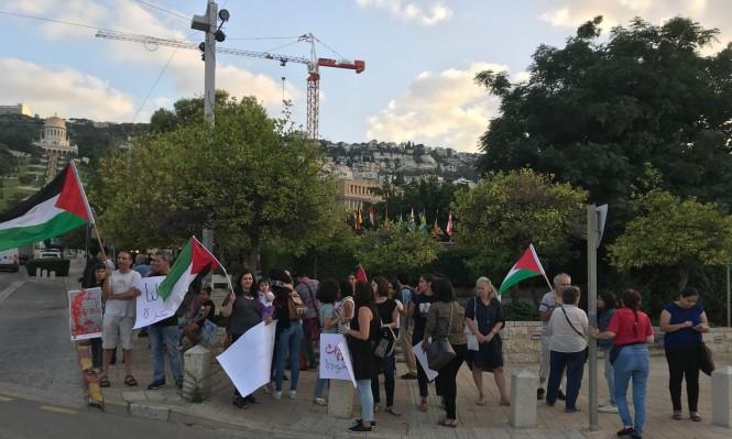 تظاهرة لفلسطينيات نحو العودة وكسر الحصار من حيفا إلى غزة