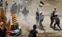 """الاحتلال يقمع الصحافيين بـ""""الخان الأحمر"""""""