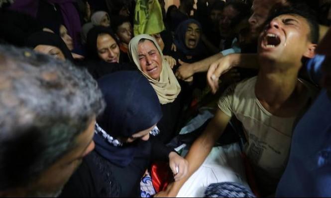تشييع جثمان الشهيد محمود الغرابلي
