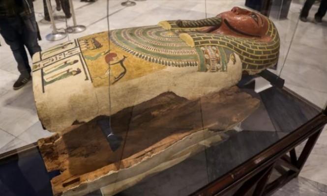 المتحف المصري يعرض قطعًا أثرية كانت مسروقة