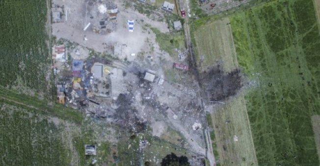 مصرع 24 في انفجارات بمستودعات للألعاب النارية في المكيسيك