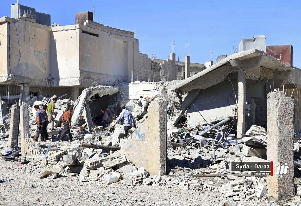 الجنوب السوري: النظام يقترب من الحدود الأردنية والقصف الروسي متواصل