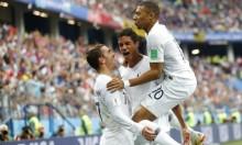 فرنسا تحصد بطاقة التأهل الأولى لنصف نهائي المونديال