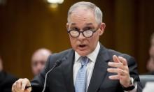 استقالة وزير البيئة الأميركي بعد سلسلة فضائح