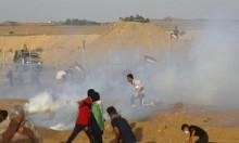 غزة: الاحتلال يعدم شابا ويصيب 150 آخرين