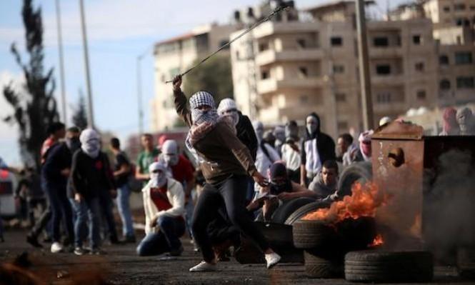 نابلس: إصابات بمواجهات مع الاحتلال ومستوطنين بقرية عوريف