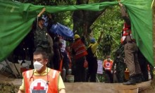 """""""أطفال الكهف"""" بتايلند: إنقاذُ طفلين"""