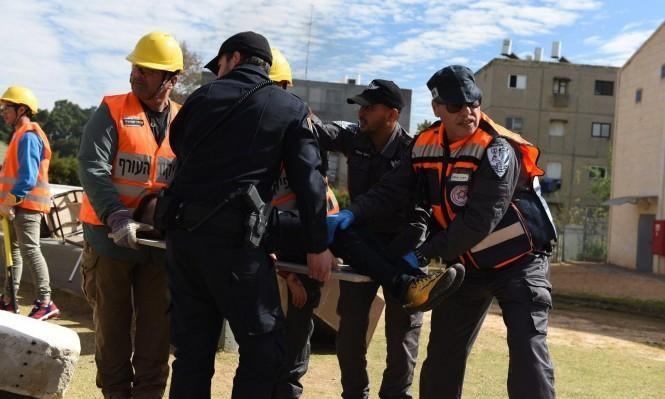 الأجهزة الأمنية الإسرائيلية تبحث الهزات الأرضية