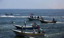 زوارق الفلسطينيين تشقّ عُباب البحر