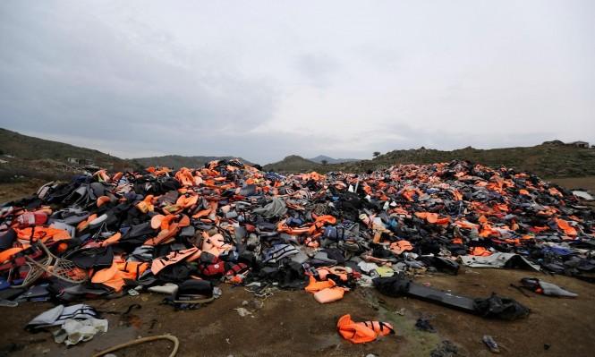 إصابات واعتقالات في مخيم لجوء في اليونان