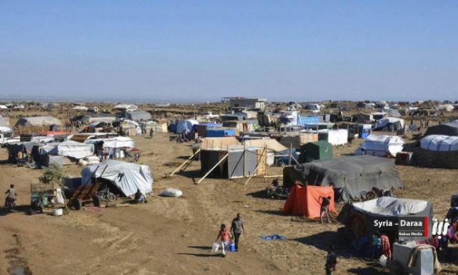 سورية: استمرار عمليات النزوح والنظام يقصف بريف القنيطرة