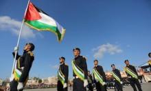 خلال عرض عسكري في غزة