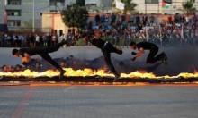 عرضٌ عسكريّ في غزة
