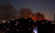 قصف إسرائيلي في سورية