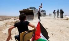 """الاحتلال يهدم مدرسة """"التحدي والصمود"""" شرق يطا"""