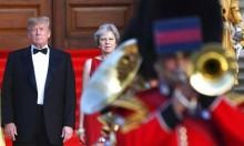ترامب في لندن لأول مرة له منذ توليه منصبه