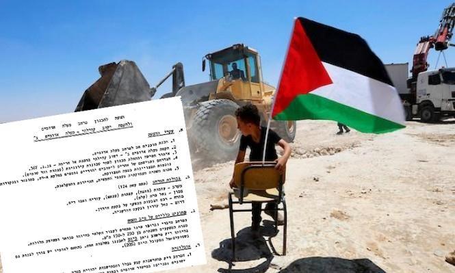 """خطة لتهجير """"بدو القدس"""" منذ 40 عاما"""