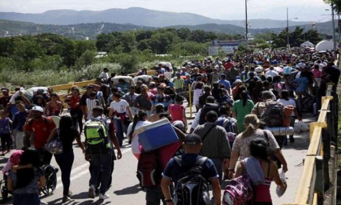آلاف النازحين بمعارك على تجارة المخدرات بين كولومبيا وفنزويلا