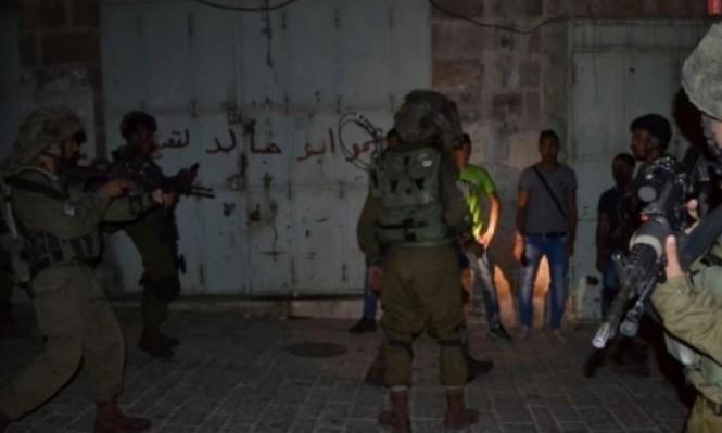 اعتقال 9 فلسطينيين ومواجهات خلال اقتحام الاحتلال لجنين