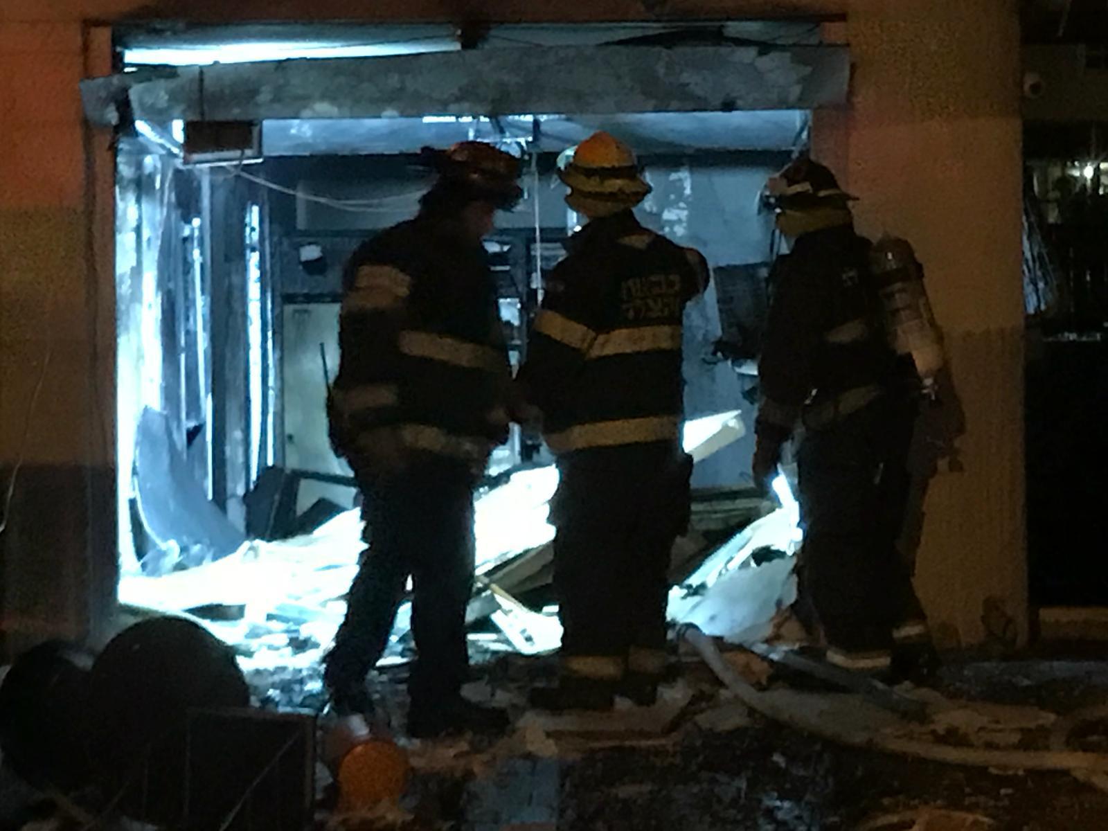 الطيبة: دوي انفجار أعقبه اشتعال النيران في منزل