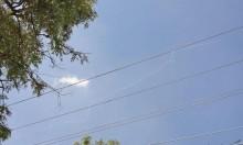 صاروخ باتريوت إسرائيلي يعترض طائرة مسيرة في سماء صفد