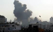 استشهاد طفلين بقصف الاحتلال لمبنى الكتيبة بغزة