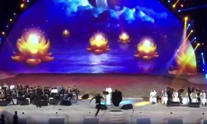 """اقتحمت خشبة المسرح… اعتقال فتاة سعودية عانقت الفنان """"ماجد المهندس"""" خلال حفل (فيديو)"""