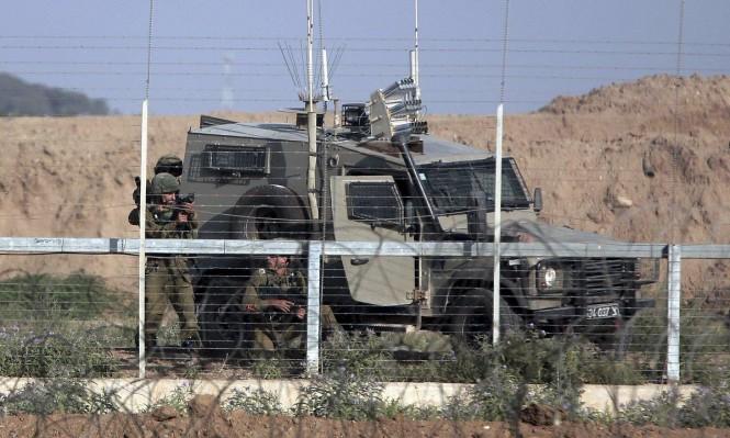 """رغم """"التهدئة"""": مناورات عسكرية تحاكي احتلال غزة"""
