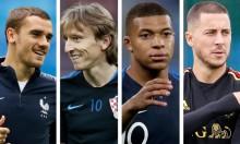 مونديال 2018: 4 مرشحين لجائزة أفضل لاعب