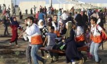 إصابات بقصف الاحتلال لمطلقي الطائرات الورقية بغزة