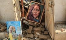 وطالت صواريخُ الاحتلال حتّى الفنّ والجمال