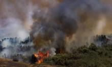الجيش الإسرائيلي يستدعي سائقي شاحنات من الاحتياط لمكافحة الحرائق