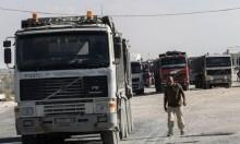 انخفاض حاد في عدد شاحنات الأغذية والبضائع لغزة