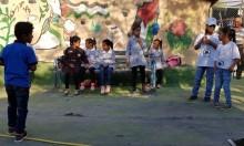افتتاح العام الدراسي بالخان الأحمر لمواجهة التهجير