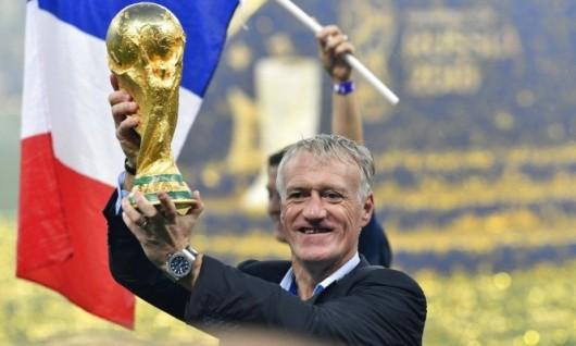 ماذا قال مدرب فرنسا بعد التتويج بكأس العالم؟