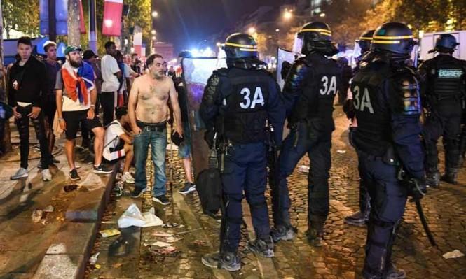 فرنسا: اشتباكاتٌ تُنغّص فرحة الفوز بين جماهير جامحة والشرطة