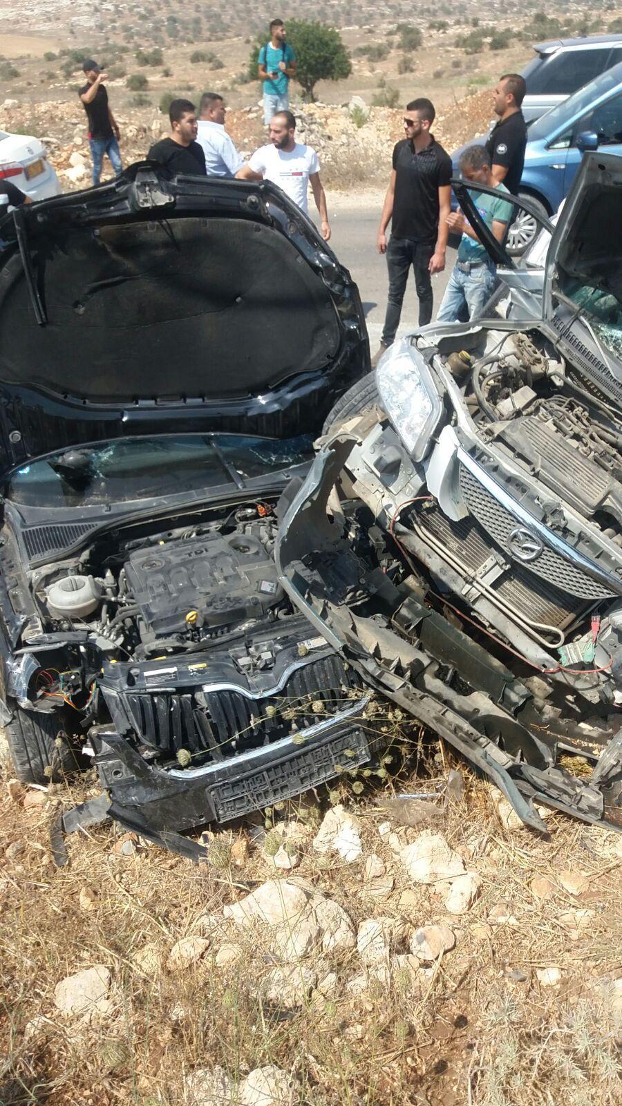 جنين: قتيلة من عرابة و6 إصابات بحادث طرق