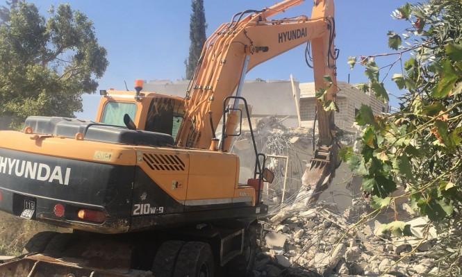 الاحتلال هدم 63 منزلا بالقدس منذ مطلع 2018