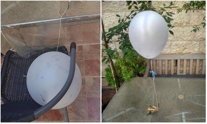 """البالونات الحارقة تتجاوز """"غلاف غزة"""" وتصل القدس"""