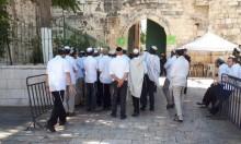 """مستوطنون يؤدون صلوات تلمودية بمقبرة """"باب الرحمة"""""""